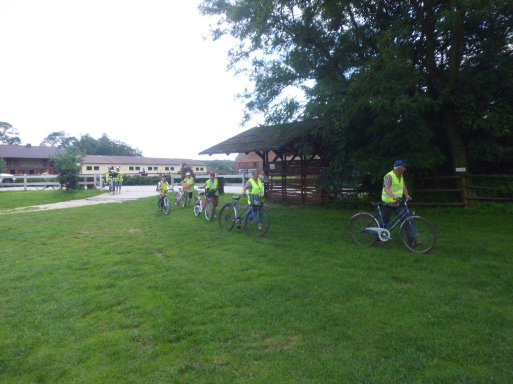 wycieczka rowerowa do Hermanowa