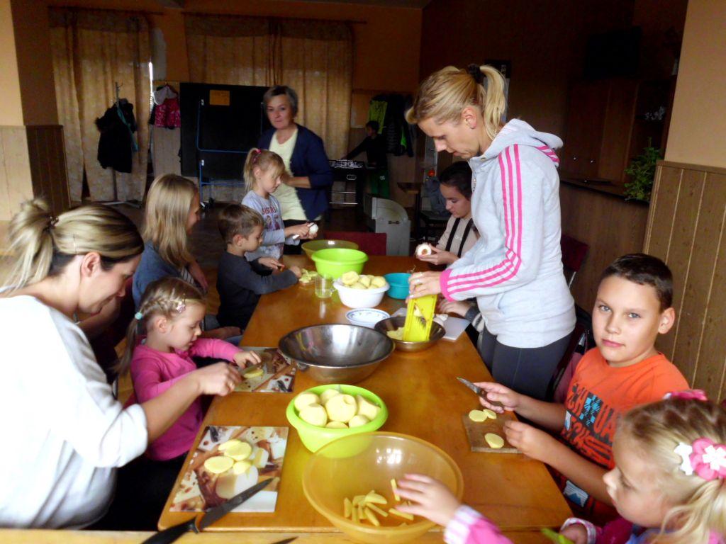 Zajęcia kulinarne – frytki