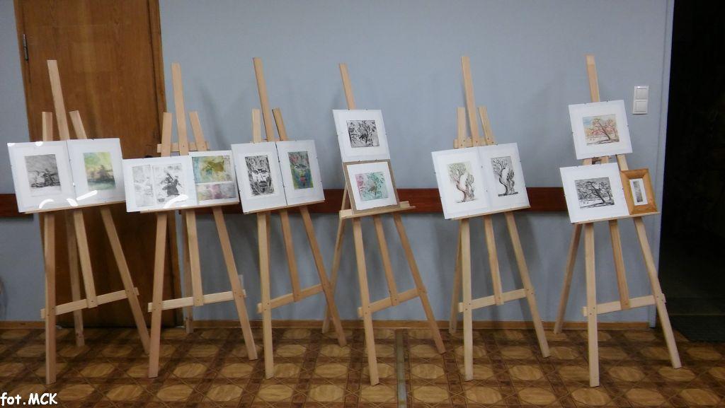 Wernisaż prac uczestników zajęć SENIOR ART