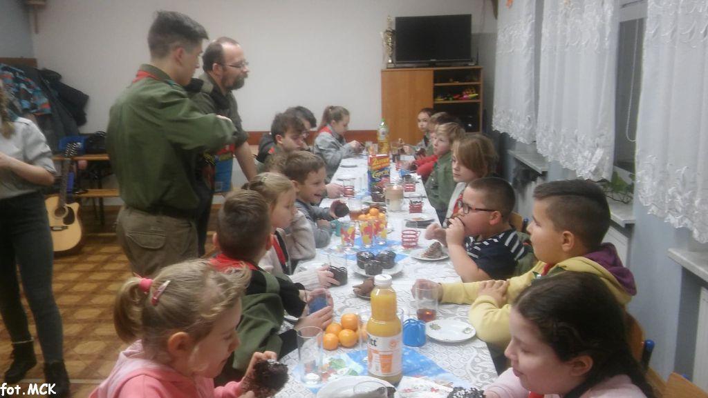 Świąteczne spotkanie zuchów i harcerzy